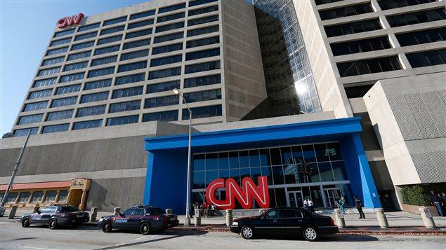 Les bureaux de la chaîne américaine CNN