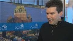 François Moisan, porte-parole de la Ville de Québec