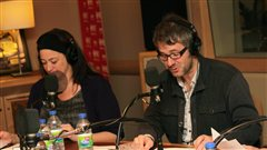 Marie-Josée Bastien et Simon Boudreault |© Radio-Canada / Philippe Couture