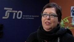 La porte-parole de la STO, Céline Gauthier