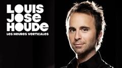 L'affiche du spectacle <em>Les heures verticales</em> de Louis-Jos� Houde