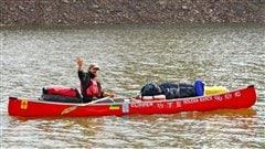 Le Fransaskois Dominique Liboiron a entrepris un voyage de 5000 km en canot, de la Saskatchewan jusqu'à la Nouvelle-Orléans