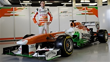 Paul di Resta et la Force India VJM06
