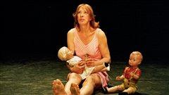 Vanessa Van Durme dans le spectacle <em>Regarde maman je danse</em>