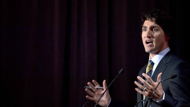 Le député Justin Trudeau à Vancouver le 20 janvier 2013