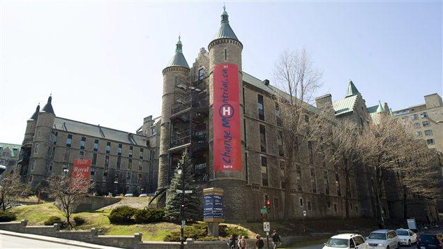L'hôpital Royal Victoria, affilié au CUSM, où l'opération a eu lieu.