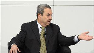 Ehud Barak, ministre israélien de la Défense lors de la Conférence internationale sur la sécurité à Munich
