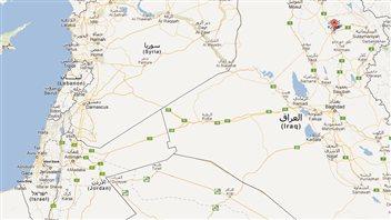 Kirkouk est située à 250 kilomètres au nord de la capitale Bagdad.