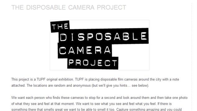 Le site Internet du projet