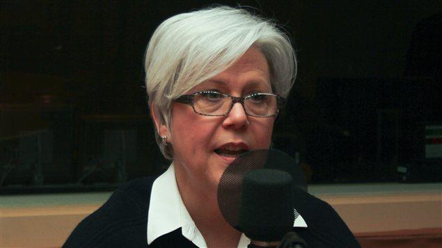 La directrice de l'agence de mannequins Specs, Marie-Josée Trempe.