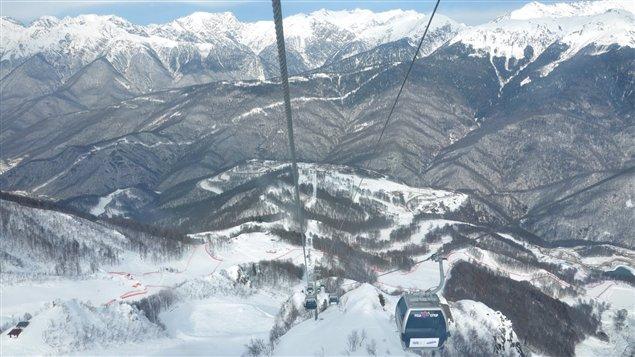 Les montagnes de Krasnaya Polyana