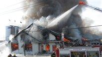 La fromagerie St-Albert : après l'incendie, le projet de reconstruction