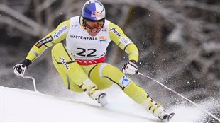 Le Norvgien Aksel Lund Svindal  Schladming