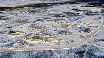 La mine Victor de De Beers, à 90 kilomètres à l'ouest d'Attawapiskat