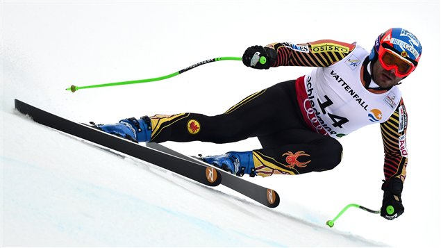 Le Canadien Jan Hudec à Schladming