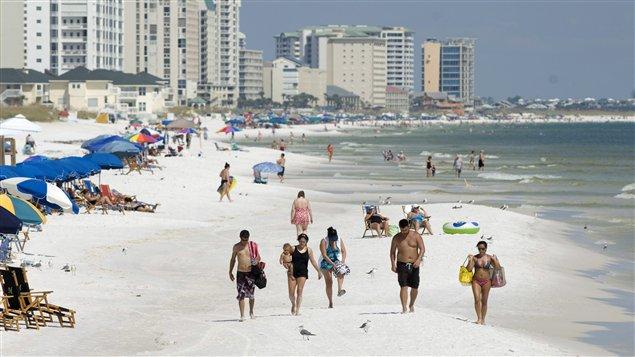 Plage de Destin, en Floride