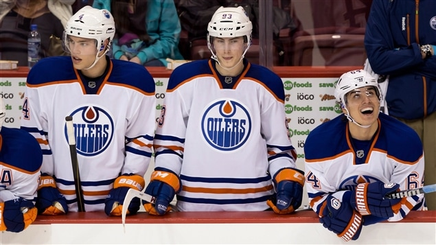 Taylor Hall, Ryan Nugent-Hopkins et Nail Yakupov