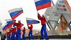 Le décompte olympique est lancé à Moscou