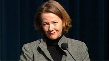 La premire ministre de l&#39;Alberta, Alison Redford
