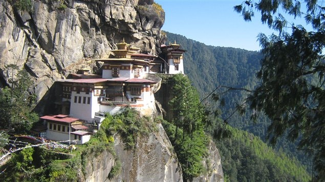 Le Nid du tigre, le plus célèbre des monastères du Bhoutan