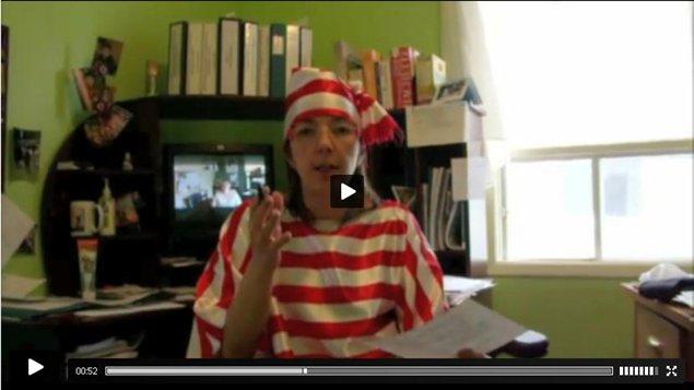 La première capsule vidéo de l'activité «Où est Jacinthe?»