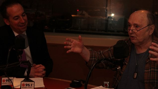 Nicolas Girard et Lucien Francoeur ©Radio-Canada/Marie-Sandrine Auger