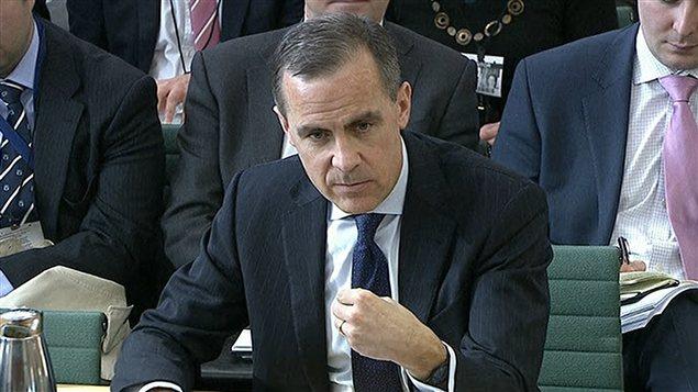 Mark Carney devant un comité parlementaire à Londres jeudi