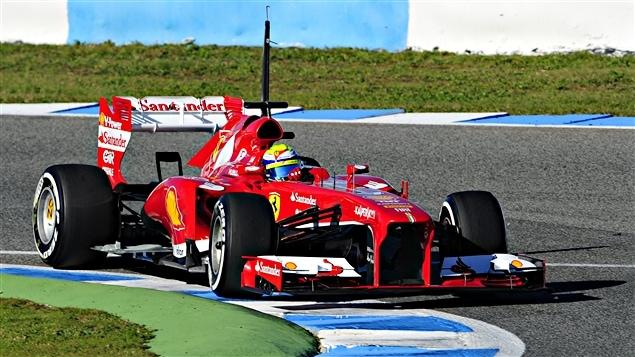 Felipe Massa à Jerez
