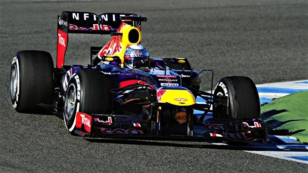 Sebastian Vettel à Jerez
