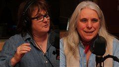Lise Ravary et Manon Mass�  �Radio-Canada/Marie-Sandrine Auger