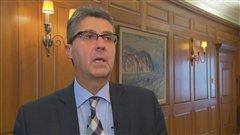 Alain Kirouac, président de la Chambre de commerce et d'industrie de Québec