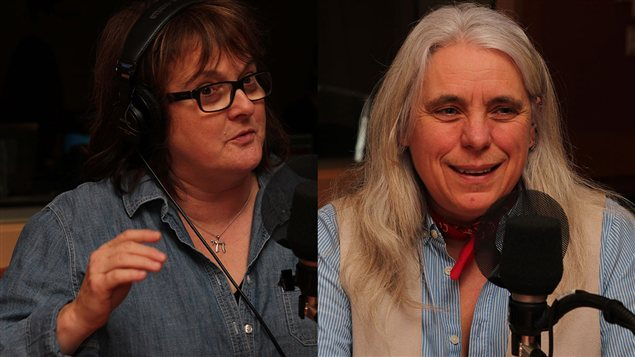 Lise Ravary et Manon Massé  ©Radio-Canada/Marie-Sandrine Auger