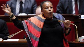 La ministre de la Justice de France, Christiane Taubira
