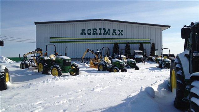 Agrimax, entreprise de machinerie agricole