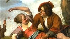 Image tirée de la couverture de <em>Séduction, amour et mariages en Nouvelle-France</em>, d'André Lachance, aux éditions Libre Expression