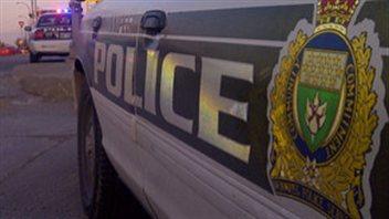 Des voitures de police à Winnipeg