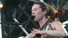 La chanteuse et violoncelliste Jorane.