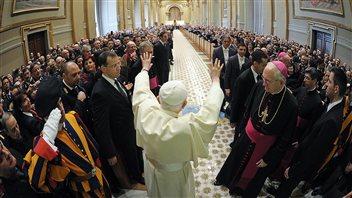 Benoît XVI au Vatican