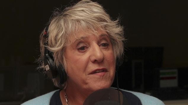 La journaliste et romanci�re Denise Bombardier.