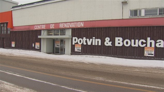 Le centre de rnovation Potvin et Bouchard, de la rue Saint-Jean