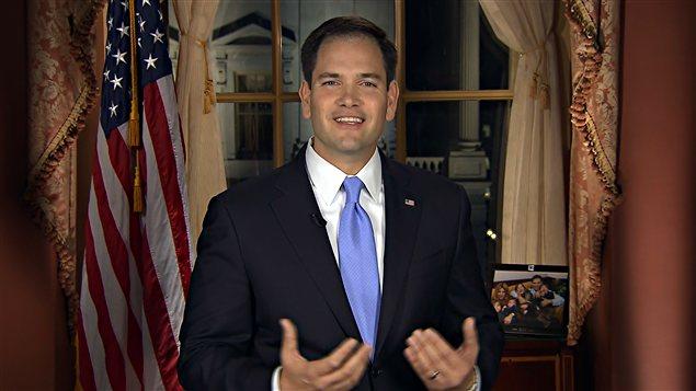 Le sénateur républicain Marco Rubio