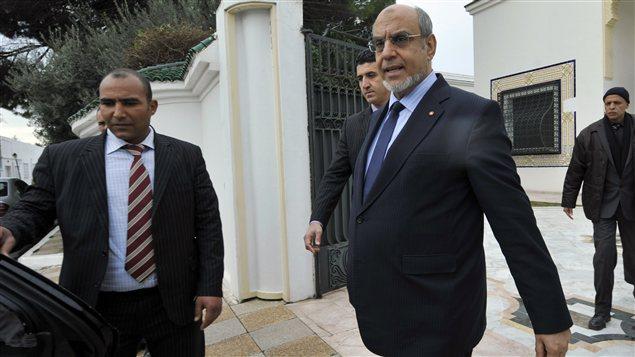 Le premier ministre tunisien a rencontré aussi un groupe d'ambassadeurs.