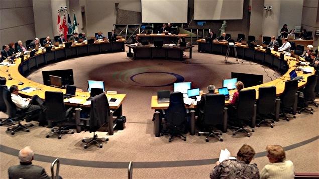 Les élus d'Ottawa sont réunis en conseil municipal.