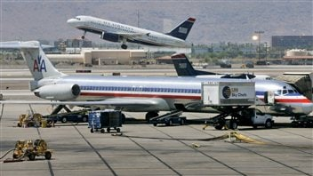Des avions d'American Airlines et US Airways
