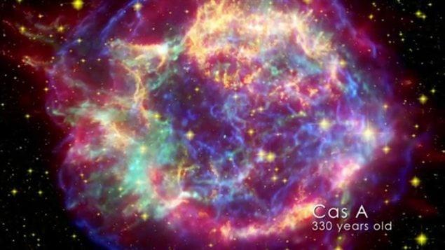 La supernova Cas A