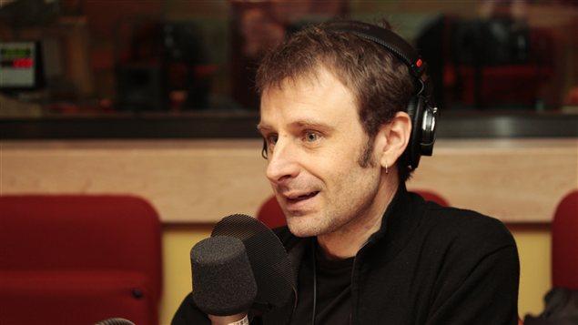 Nicolas Dickner | © Radio-Canada / Philippe Couture