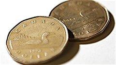 Deux pièces de 1 $