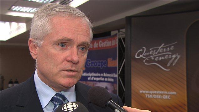 Michael Binnion, PDG de Questerre et nouveau président de l'Association pétrolière et gazière du Québec
