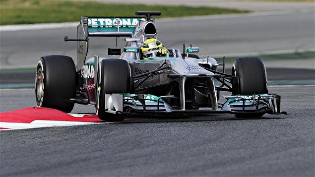 Nico Rosberg à Barcelone
