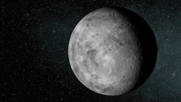 Représentation artistique de l'exoplanète Kepler-37b